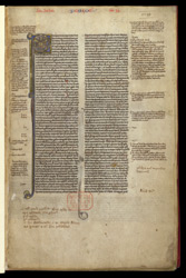 Prologue, in a Copy of the Pauline Epistles With Explanatory Notes